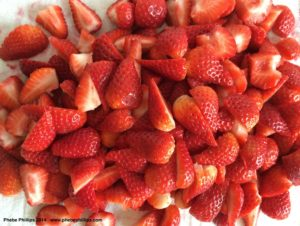 Strawberries for Pie