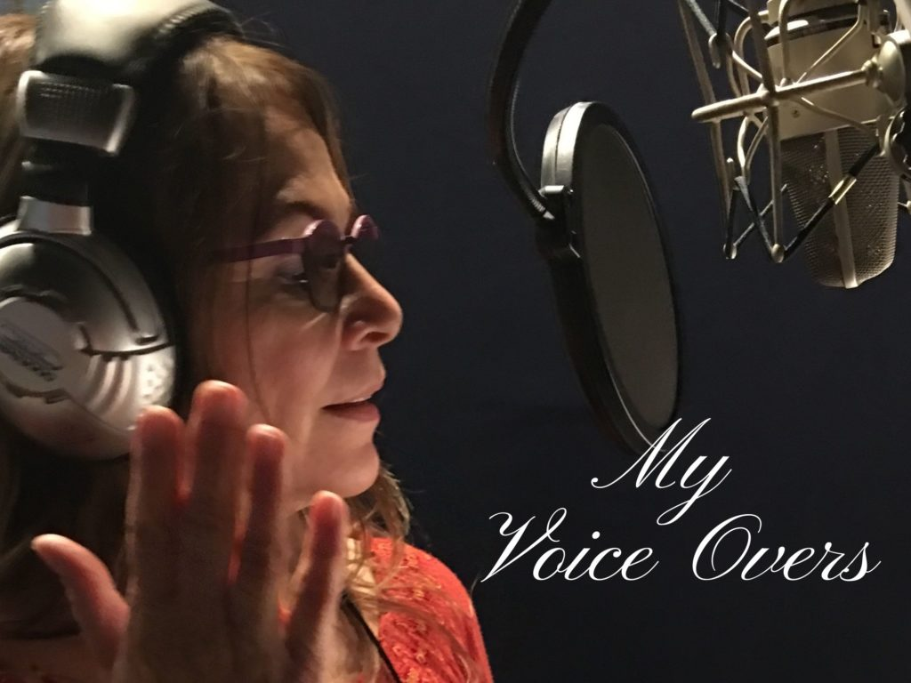 Website Banner for Voice Overs on the Phebe Phillips Website